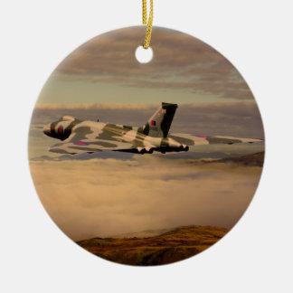 Avro Vulcan Bomber XH558 Christmas Ornament