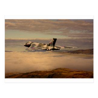 Avro Vulcan Bomber XH558 Postcard