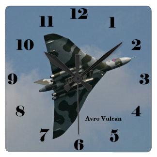Avro Vulcan Delta Wing Bomber all numbers Wallclock