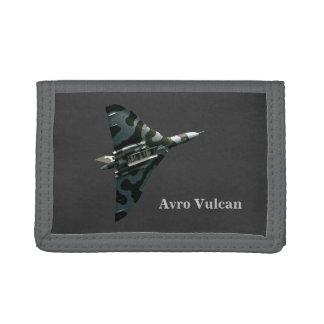 Avro Vulcan Delta Wing Bomber Tri-fold Wallets