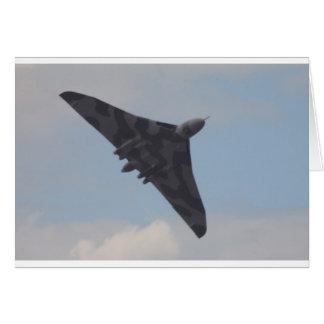 Avro Vulcan XH558 Card