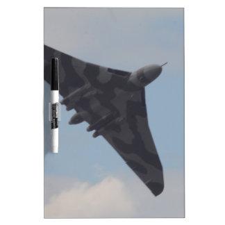 Avro Vulcan XH558 Dry-Erase Boards