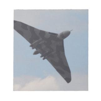 Avro Vulcan XH558 Memo Pads