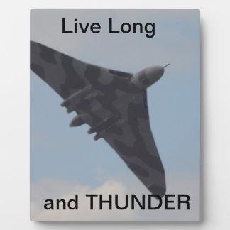 Avro Vulcan XH558 Display Plaque