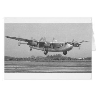 Avro York Greeting Card