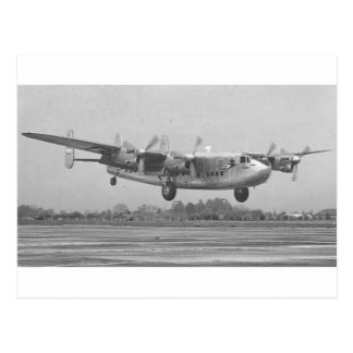 Avro York Postcard
