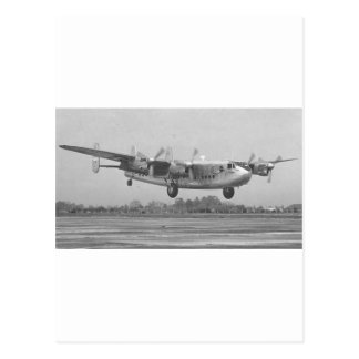Avro York Postcard