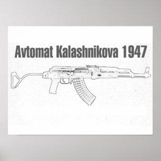 Avtomat Kalashnikova 1947 Poster