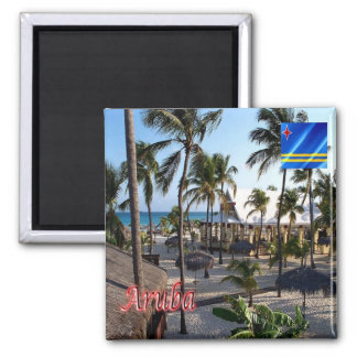AW - Aruba - Manchebo Beach Magnet