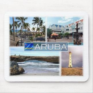 AW Aruba - Oranjestad - Lighthouse - Mouse Mat