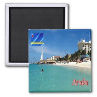 AW - Aruba - Palm Beach Magnet