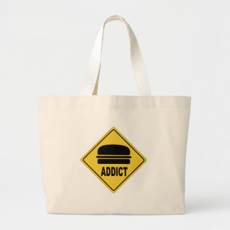 AW Burger Jumbo Tote Bag