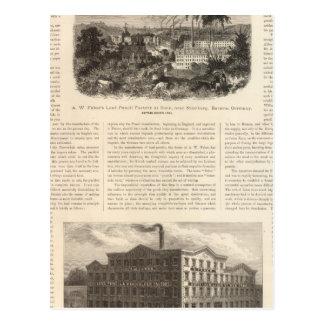 AW Faber's Lead Pencils Postcard