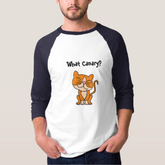 AW- Funny Cat who ate the Canary Shirt