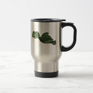 AW- Funny Sea Turtle Travel Mug