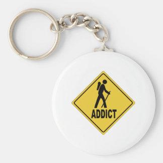 AW Hiking 1 Basic Round Button Key Ring
