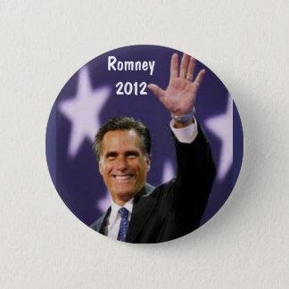 AW- Mitt Romney 2012 6 Cm Round Badge