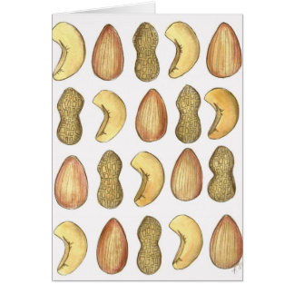 Aw, Nuts! Greeting Card