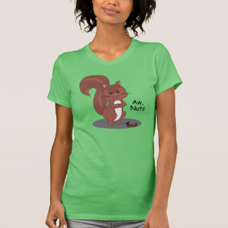 """""""Aw Nuts"""" Squirrel T-Shirt"""