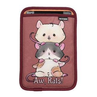 Aw, Rats! iPad Mini Sleeve