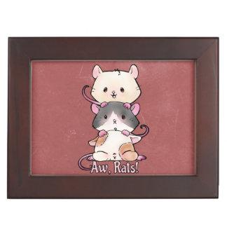 Aw, Rats! Keepsake Box