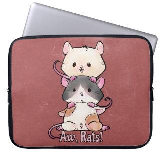 Aw, Rats! Laptop Sleeve
