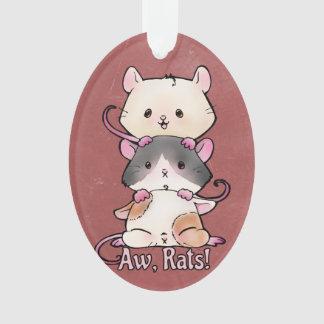 Aw, Rats! Ornament