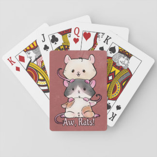 Aw, Rats! Playing Cards