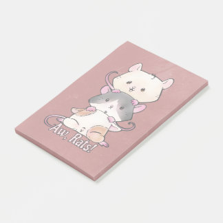 Aw, Rats! Post-it Notes