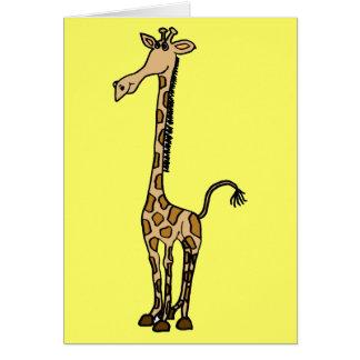 AW- Whimsical Giraffe Note card or Greeting Card