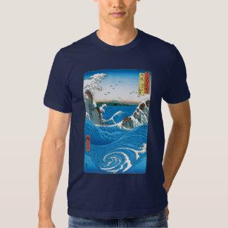 Awa Province, Naruto Whirlpools by Ando Hiroshige Tee Shirt