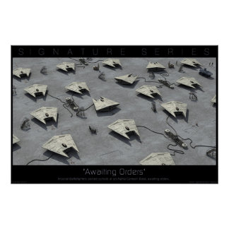 Awaiting Orders Poster