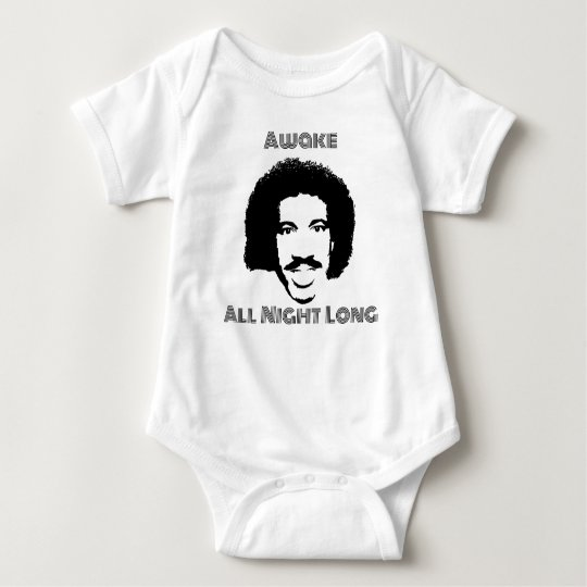 Awake - All night long Baby Bodysuit