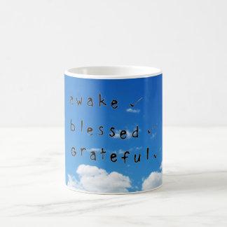 Awake Blessed & Grateful Mug