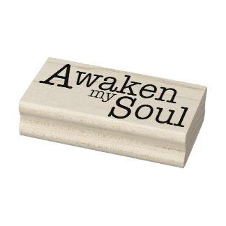 Awaken My Soul Rubber Stamp