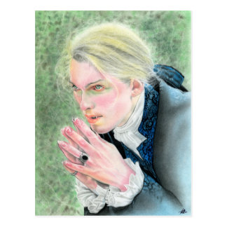 Awakened soul Vampire postcard