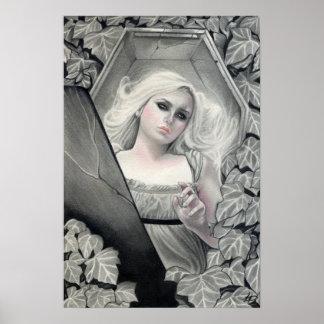 Awakened Vampiress Poster