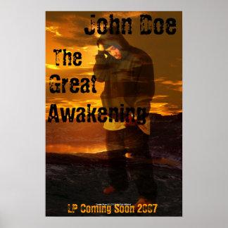Awakening Red Sky Poster