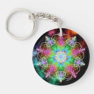 Awakening/Self Love Double-Sided Round Acrylic Key Ring