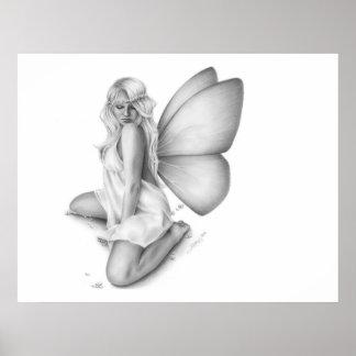 Awakening Spring Fairy Poster