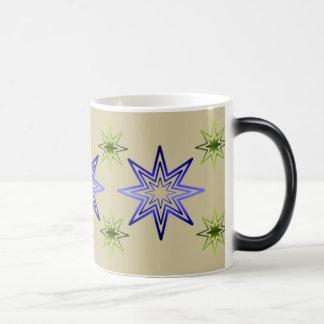 Awakening Star On Ivory Mugs
