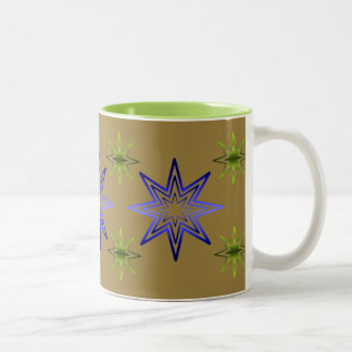 Awakening Star On Khaki Mugs