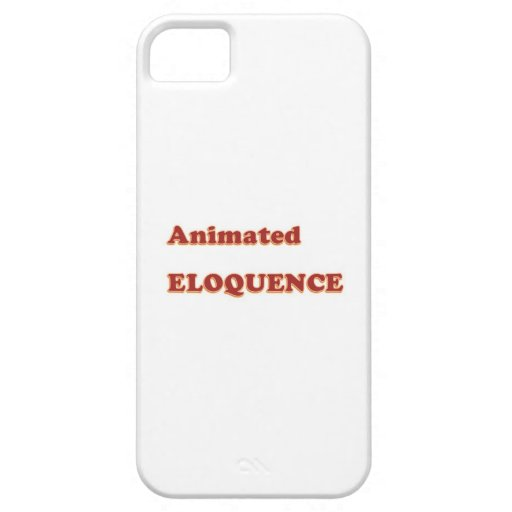 AWARD Gift:  ANIMATED ELOQUENCE word play iPhone 5/5S Covers