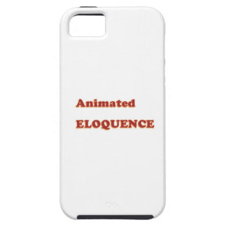 AWARD Gift:  ANIMATED ELOQUENCE word play iPhone 5 Cases
