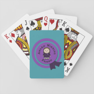 Award Winning Friend Playing Cards