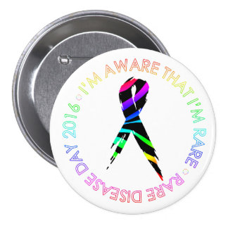 Aware That I'm Rare [Disease Day 2016] Buttons