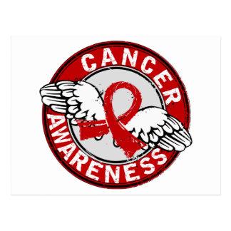 Awareness 14 Blood Cancer Postcard