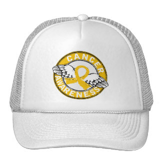 Awareness 14 Childhood Cancer Mesh Hats