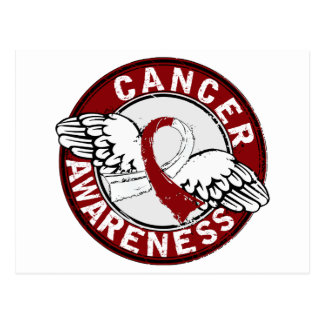 Awareness 14 Head and Neck Cancer Postcard