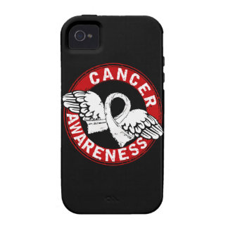 Awareness 14 Lung Cancer Vibe iPhone 4 Cover